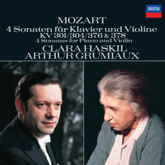 Mozart: 4 Violin Sonatas for Piano and Violin, Nos.18, 21, 24 & 26 - Clara Haskil,Arthur Grumiaux