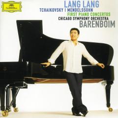 Tchaikovsky / Mendelssohn: First Piano Concertos - Lang Lang,Daniel Barenboim,Chicago Symphony Orchestra