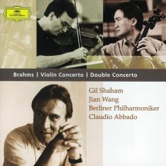 Brahms: Violin Concerto; Double Concerto - Gil Shaham,Jian Wang,Berliner Philharmoniker,Claudio Abbado