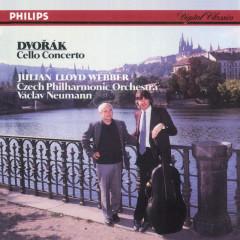 Dvorak: Cello Concerto - Julian Lloyd Webber,Czech Philharmonic Orchestra,Vaclav Neumann,Royal Philharmonic Orchestra,Yehudi Menuhin