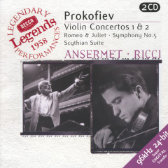Prokofiev: Violin Concertos Nos.1 & 2; Symphony No.5; Romeo & Juliet etc. - Ruggiero Ricci,L'Orchestre de la Suisse Romande,Ernest Ansermet