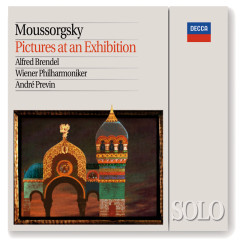 Mussorgsky: Pictures at an Exhibition (Piano & Orchestral versions) - Alfred Brendel,Wiener Philharmoniker,André Previn
