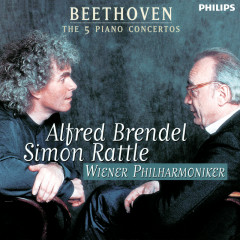 Beethoven: The Piano Concertos - Alfred Brendel,Wiener Philharmoniker,Simon Rattle