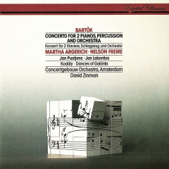 Bartók: Concerto For 2 Pianos, Percussion & Orchestra / Kodály: Dances Of Galánta - David Zinman,Martha Argerich,Nelson Freire,Royal Concertgebouw Orchestra