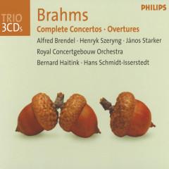 Brahms: Complete Concertos / Overtures - Alfred Brendel,Henryk Szeryng,János Starker,Royal Concertgebouw Orchestra,Bernard Haitink