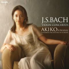 Bach: Violin Concertos 1 & 2 - Akiko Suwanai,Chamber Orchestra of Europe