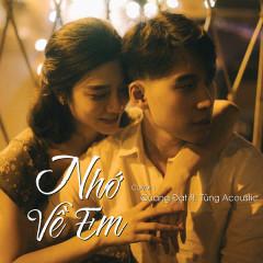 Nhớ Về Em (Single) - Quang Đạt
