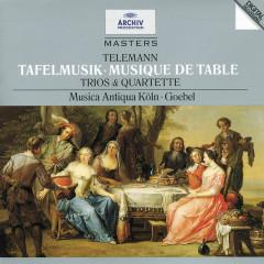 Telemann: Tafelmusik (Trios und Quartette) - Musica Antiqua Köln,Reinhard Goebel