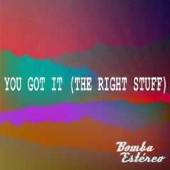 You Got It (The Right Stuff) - Bomba Estéreo