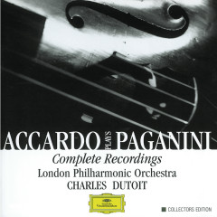 Accardo Plays Paganini- Complete Recordings - Salvatore Accardo,London Philharmonic Orchestra,Charles Dutoit