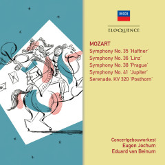 Mozart: Symphonies 35, 41, 36, 38; Posthorn Serenade