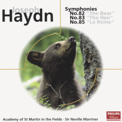Haydn: Symphonies Nos.82,83 & 85 - Academy of St. Martin in the Fields,Sir Neville Marriner