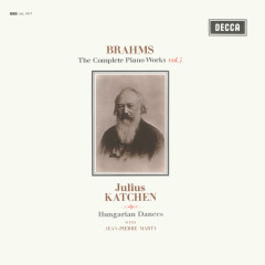 Brahms: Hungarian Dances; Variations on a Theme by Paganini - Julius Katchen