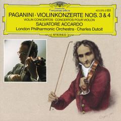 Paganini: Violin Concertos Nos. 3 & 4 - Salvatore Accardo,London Philharmonic Orchestra,Charles Dutoit
