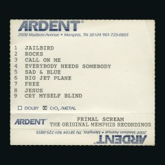 Rocks (The Original Memphis Recordings) - Primal Scream