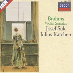 Brahms: Violin Sonatas Nos.1-3 - Josef Suk,Julius Katchen