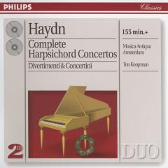 Haydn: Complete Harpsichord Concertos; Divertimenti etc. - Musica Antiqua Amsterdam,The Amsterdam Baroque Orchestra,Ton Koopman