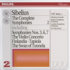 Sibelius: The Complete Symphonies, etc., Vol.2 - Salvatore Accardo,Boston Symphony Orchestra,London Symphony Orchestra,Sir Colin Davis