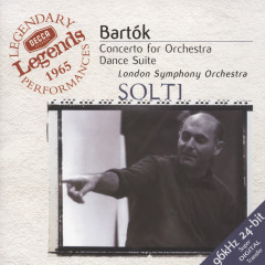 Bartók: Concerto for Orchestra; Dance Suite; The Miraculous Mandarin - London Symphony Orchestra,Sir Georg Solti
