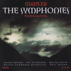 Mahler: The Symphonies/Kindertotenlieder (14 CDs) - Boston Symphony Orchestra,Seiji Ozawa