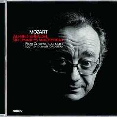 Mozart: Piano Concertos Nos.12 & 17 - Alfred Brendel,Scottish Chamber Orchestra,Sir Charles Mackerras