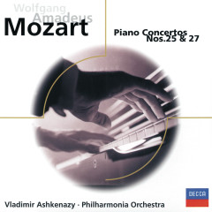Mozart: Piano Concertos Nos. 25 & 27 - Philharmonia Orchestra,Vladimir Ashkenazy