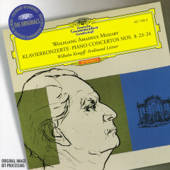 Mozart: Piano Concertos Nos.8, 23 & 24 - Wilhelm Kempff,Bamberger Symphoniker,Berliner Philharmoniker,Ferdinand Leitner