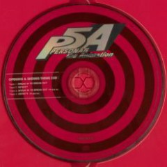 PERSONA5 the Animation OP & ED THEME DISC: BREAK IN TO BREAK OUT / INFINITY