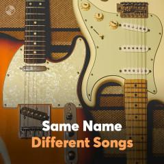 Những Bài Hát Cùng Tên - Various Artists