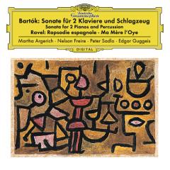 Bartók: Sonata For 2 Pianos And Percussion, Sz. 110 / Ravel: Ma mère l'oye, M. 62; Rapsodie espagnole, M. 54 - Martha Argerich,Nelson Freire,Peter Sadlo,Edgar Guggeis