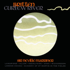 Britten: Curlew River - Sir Neville Marriner,Academy of St. Martin in the Fields