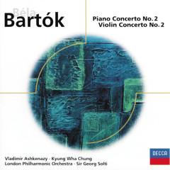 Bartók: Piano Concerto No.2/Violin Concerto No.2 - Vladimir Ashkenazy,Kyung Wha Chung,London Philharmonic Orchestra,Sir Georg Solti