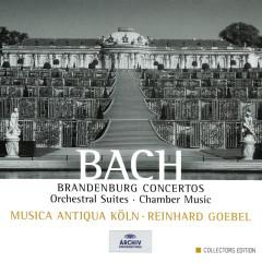 Bach: Brandenburg Concertos; Orchestral Suites; Chamber Music - Musica Antiqua Köln,Reinhard Goebel