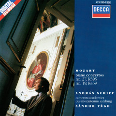 Mozart: Piano Concertos Nos. 19 & 27 - András Schiff,Camerata Academica des Mozarteums Salzburg,Sándor Végh