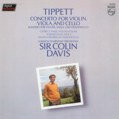 Tippett: Concerto For Violin, Viola & Cello