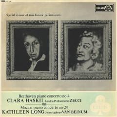 Mozart: Piano Concerto No. 24 / Beethoven: Piano Concerto No. 4 / Schumann: Waldszenen - Clara Haskil,Kathleen Long