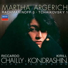 Rachmaninov: Piano Concerto No.3 / Tchaikovsky: Piano Concerto No.1 - Martha Argerich,Radio-Symphonie-Orchester Berlin,Riccardo Chailly,Symphonieorchester des Bayerischen Rundfunks,Kirill Kondrashin