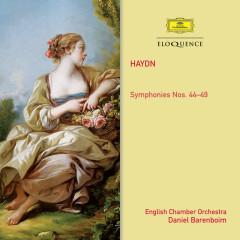 Haydn: Symphonies Nos. 44-49 - English Chamber Orchestra,Daniel Barenboim