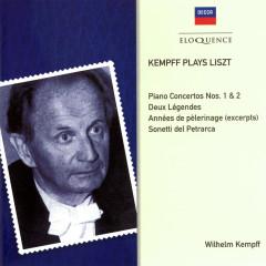 Kempff Plays Liszt