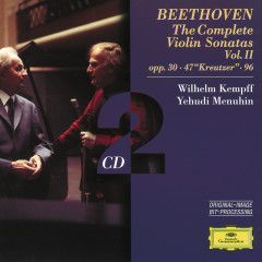 Beethoven: The Complete Violin Sonatas Vol.II - Yehudi Menuhin,Wilhelm Kempff