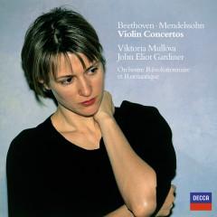Beethoven / Mendelssohn: Violin Concertos - Viktoria Mullova,Orchestre Révolutionnaire et Romantique,John Eliot Gardiner