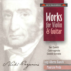 Nicolo Paganini  Works for Violin and Guitar CD1 - Nicolo' Paganini