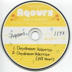 Aqours Original Song CD 4