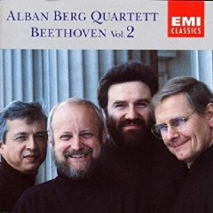 Beethoven - The String Quartets, Vol. 2 (Live) CD 1