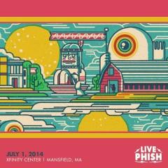 2014-07-01 Xfinity Center, Mansfield, MA (CD2)