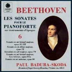 Beethoven - Les Sonates Pour Le Pianoforte Sur Instruments D'epoque CD 6