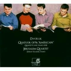 Dvorák: String Quartet Op. 96, Piano Quintet Op. 81 - Jerusalem Quartet