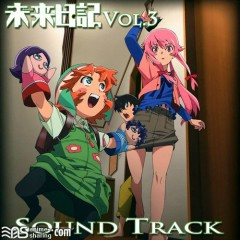 Mirai Nikki Blu-ray Vol.3 Soundtrack CD