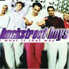 I Want It That Way (CDS)