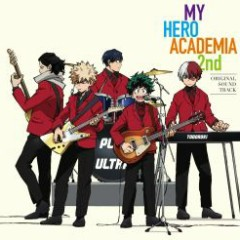 Boku no Hero Academia 2nd Original Soundtrack CD2 - Yuki Hayashi